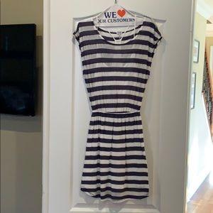 Splendid striped tee shirt dress